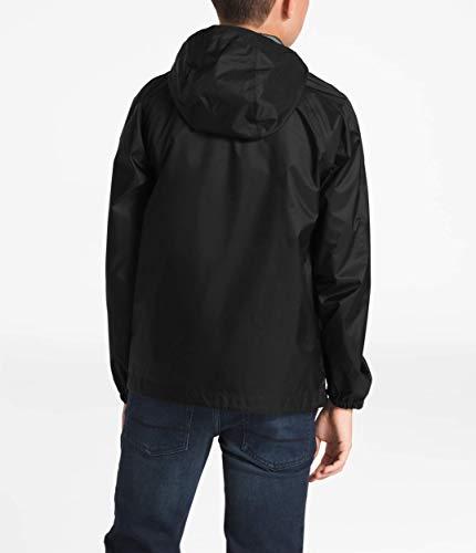 The North Face Kids Boy's Zipline Rain Jacket (Little Kids/Big Kids) TNF Black Large by The North Face (Image #1)
