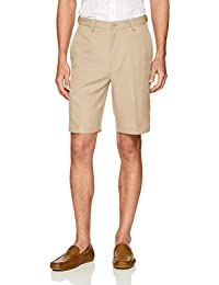 Men's Cool 18 Pro Straight Fit Stretch Solid Flat Front Short