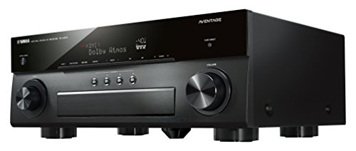 Yamaha AVENTAGE Audio & Video Component Receiver,Black (RX-A870BL), Works with Alexa
