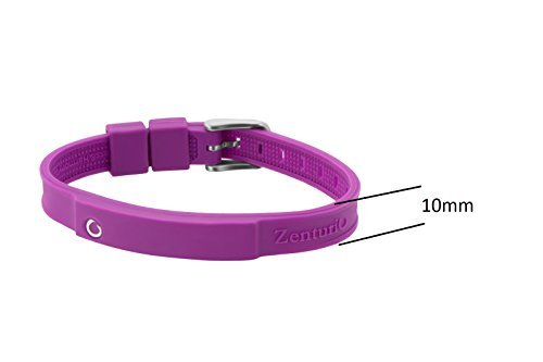 Zenturio Limited Colur Up Lavender Edition exclusive magnet/ion / health bracelet – TÜV Rheinland Germany certified – For your health and wellbeing - Without Etui by Zenturio (Image #2)