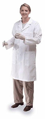 Meta 17010-011-L Labcoat, Fluid Resistant, Ladies, L