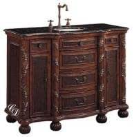 Bathroom Vanity 49 Inch with Top and Sink: 49 Inch Single ...