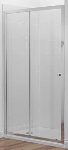 Jacob Delafon E14C120-GA Mampara de ducha, Sin acabado: Amazon.es ...