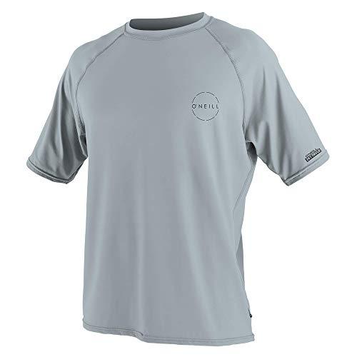 - O'Neill Men's 24-7 Traveler UPF 50+ Short Sleeve Sun Shirt, Cool Grey, XX-Large
