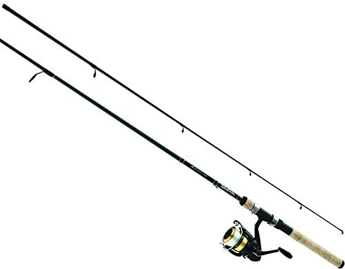 Daiwa DSK30-B F702M-12C D-Shock Freshwater Spinning Combo, 3000, 7 Length, 2Piece Rod, 6-14 lb Line Rating, Medium Power