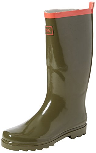 Regatta Womens Fairweather Marche Wellies Vert