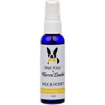 Warren London Wet Kiss Fragrance for Dogs, Milk and Honey, 2oz