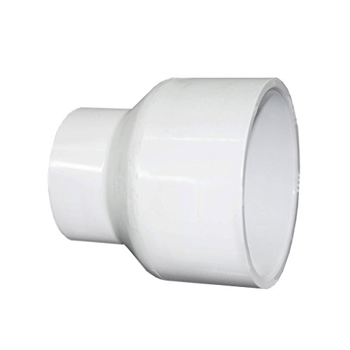 Schedule 40 PVC Pipe Fitting SLIP x SLIP Reducer Coupling (3