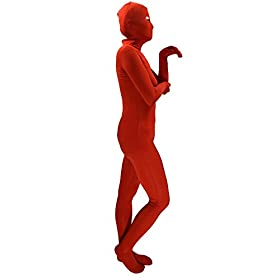 - 31xeiCmKhLL - Ensnovo Womens Spandex Zentai Full Body Unitard Eyes Open