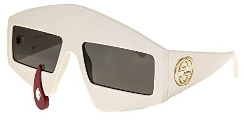 80096022832 Sunglasses Gucci GG 0359 S- 002 IVORY GREY - Liz Santos Style   Fashion