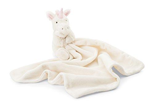 Jellycat Bashful Unicorn Baby Security Blanket (Jellycat Tails)