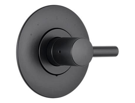UPC 034449689236, Brizo T66T075-BL Odin Sensori Thermostatic Valve Trim, Matte Black