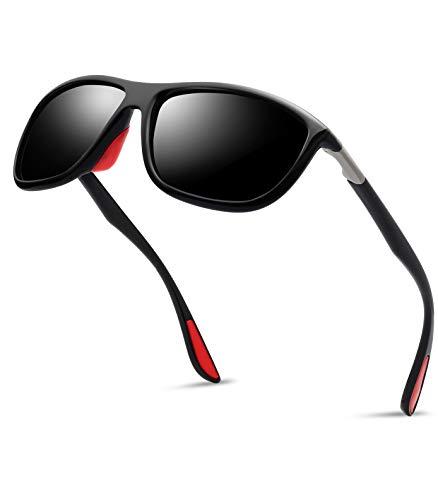 Polarized TR90 Sports Sunglasses for Men - Kanastal Ultra Lightweight Unbreakable Sun Glasses for Women KU1907