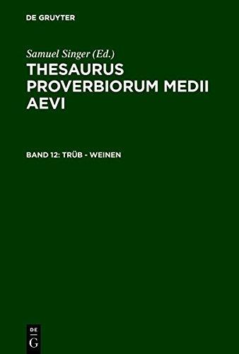 Read Online trüb - weinen (German Edition) ebook