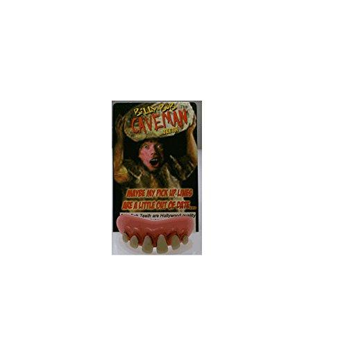 10011 Caveman Teeth (Cave Man And Woman Costumes)