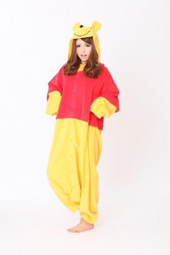 Winnie Pooh - Todo en un disfraz para adultos - Onesie Kigurumi: Amazon.es: Juguetes y juegos