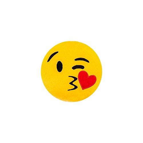 Almofada Emoji 28cm - Enviando Beijo