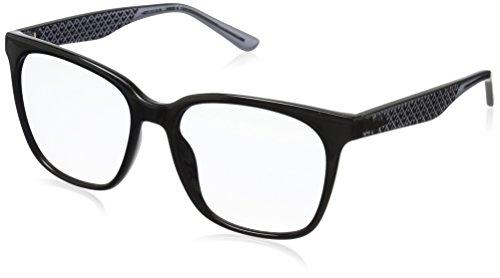 Lacoste Women's L861s Petite Pique Square Sunglasses, Black, 55 mm