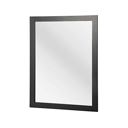Foremost HAGM2431 Hanley 30-3/4-Inch x 23-1/2-Inch Wall Mirror, Charcoal -