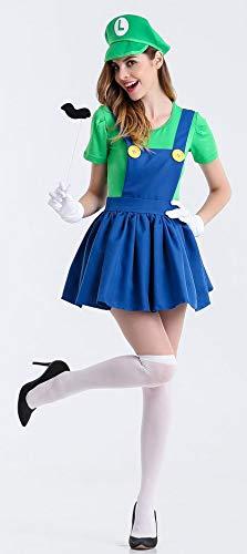99da8c34b38ffc PENGYUE Halloween Karneval Kleidung Cosplay Super Mario Maskerade ...