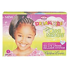 African Pride Relaxer Kit (African Pride Dream Kids Olive Miracle Relaxer Kit Coarse)