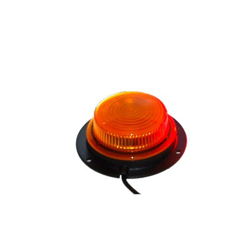 2-Mini-LED-Beacon-Strobe-Amber-Light