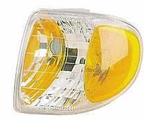 (Go-Parts » 1998-2001 Mercury Mountaineer Corner Light Assembly Replacement/Lens Cover - Left (Driver) F87Z 13201 AB FO2520160)