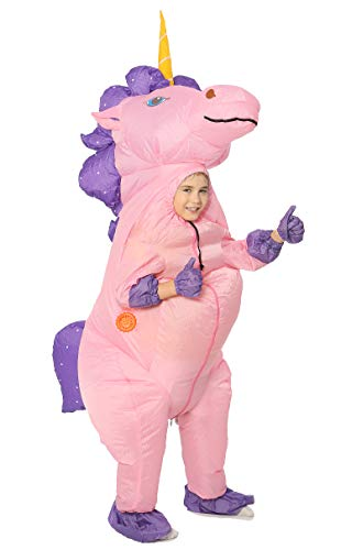 Purple Inflatable Funny Costumes - Funny Costumes Unicorn Inflatable Costume (Unicorn