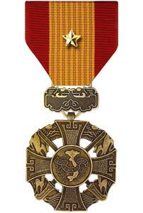 Medals of America Vietnam Gallantry Cross Medal with Gold Star Bronze