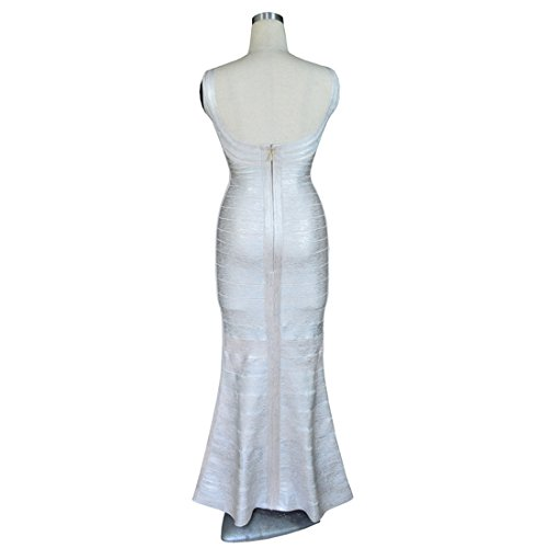 Damen Kleid silber HLBCBG XS silber pgqwx