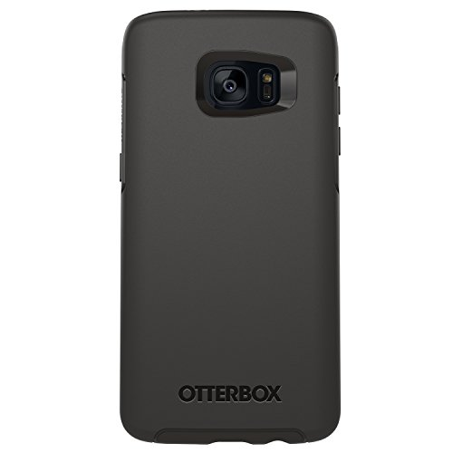 OtterBox Symmetry Series Case for Samsung Galaxy S7 Edge, Black - Frustration-Free Packaging