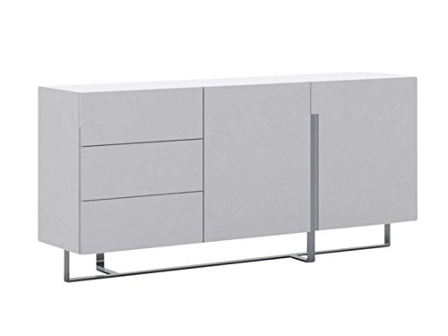 Collins Collection Lacquer Buffet, White (White Lacquer Buffet)