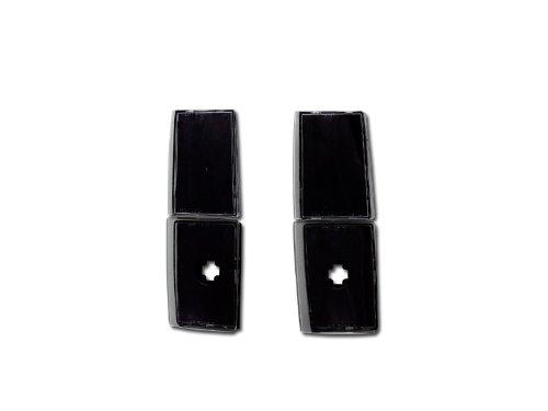 BLACK CLEAR SIGNAL PARKING CORNER LIGHT LAMPS 88-93 CHEVY/GMC C10 C/K PICKUP/SUV