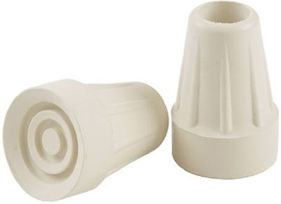 Almond Crutch Tip Shepherd Hardware 32251 2PK by Shepherd Hardware