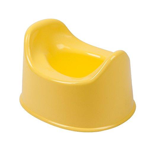 Baby Potty Toilet - Toilet Trainer, Potty Training Seat, Easy to Clean Yellow caulatedpad