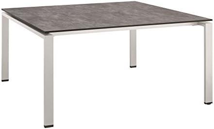 Kettler Table De Jardin Carree Hpl 150 X 150 X 74 Cm Amazon Fr