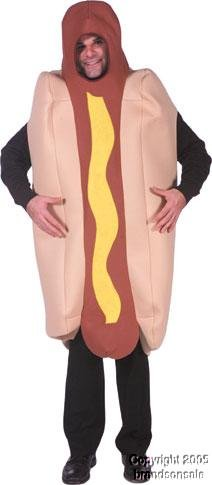 Deluxe Hot Dog Adult Costume -