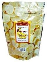 Trader Joes Freeze Dried Bananas (4 Pack)