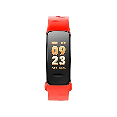 ZCPWJS smart wristband C1S Smart Bracelet Color Screen Fitness Tracker Blood Pressure Heart Rate Monitor Sleep Tracker Smart Wristband For Android IOS Orange Estimated Price £45.09 -