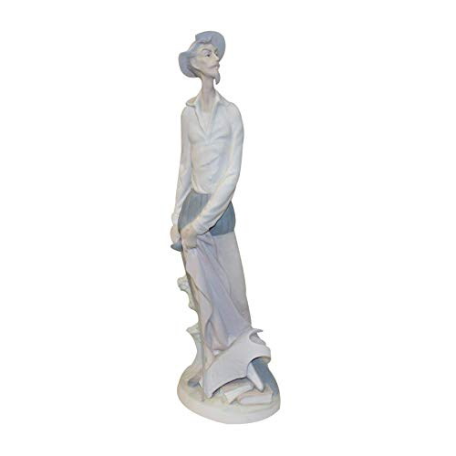 Lladro Figurine 4854m, Don Quixote Standing (Man Standing with Sword)