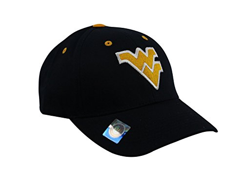National Cap Mens Champ Fashion West Virginia Mountaineers Embroidered Cap