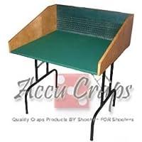 AccuCraps Double-Sized Craps Practice Table with Legs - Foam Underlayment