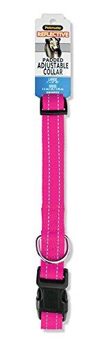 "Aspen Pet Products Reflective Pad Adjustable Collar, Pink, 26"""