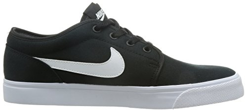 NIKE Mens Toki Low Txt Casual Shoe Black/White vAa6Q