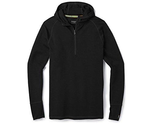 SmartWool Men's Merino 250 Baselayer Hoody (Black) Large (Smartwool Base Layer)