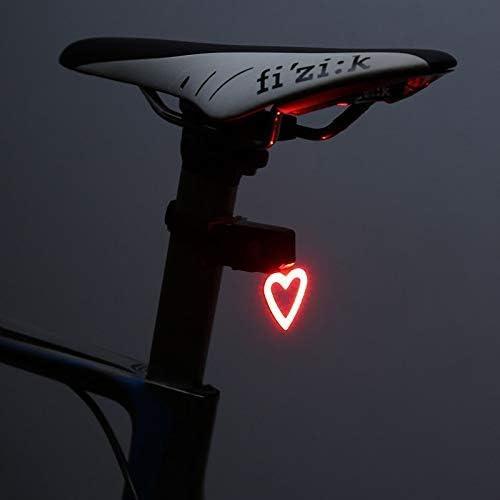 TRAACEM Luz Trasera Modo De Iluminación Múltiple Luz De Bicicleta ...