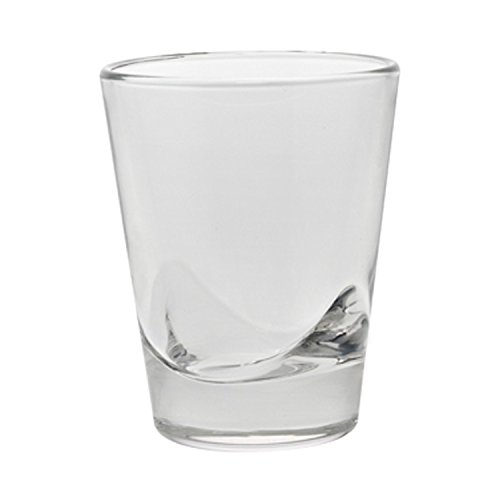 Clear Majestic Gifts AE66702-S6 European Shot Glass Set of 6