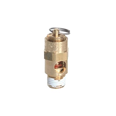 "Midwest Control SRV25-170 ASME Soft Seat Safety Valve, 170 psi, -65 Degree F - 400 Degree F Temperature Range, 1/4"" from Midwest Control"