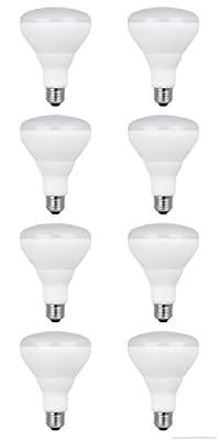 Feit Electric 13-Watt (65W Equivalent) Br30 Medium Base (E-26) Soft White Dimmable LED Flood Light Bulb-(8 Pack)
