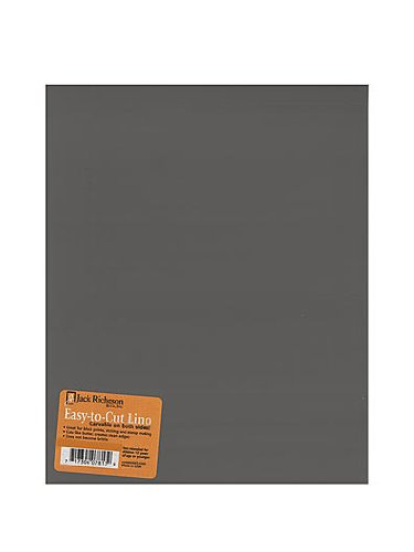 Jack Richeson Unmounted Easy-to-Cut Linoleum 6 in. x 8 in. [PACK OF 4 ]
